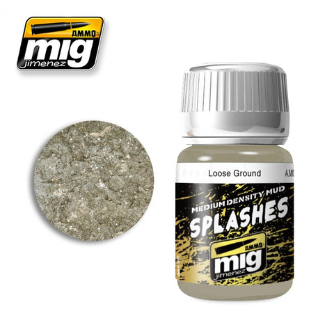 Splashes / Medium Density Mud Texture - Loose Ground (35ml)