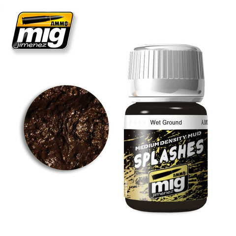 Splashes / Medium Density Mud Texture - Wet Ground (35ml)