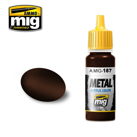 METAL : Jet Exhaust Burnt Iron (17ml) - Pegasus Hobby Supplies