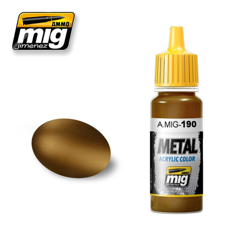 METAL : Old Brass (17ml) - Pegasus Hobby Supplies