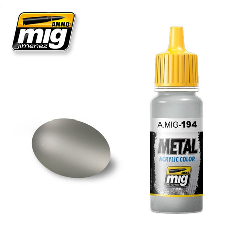 METAL : Matte Aluminium (17ml) - Pegasus Hobby Supplies