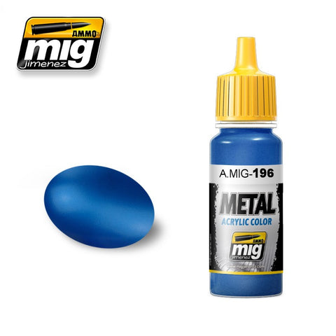 METAL : Warhead Metallic Blue (17ml) - Pegasus Hobby Supplies