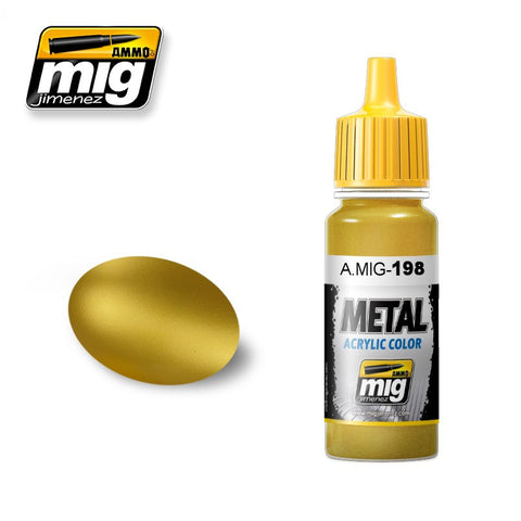 METAL : Gold (17ml) - Pegasus Hobby Supplies