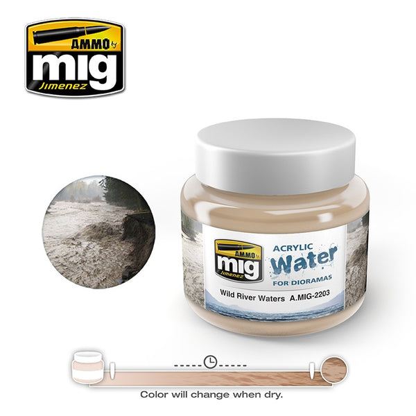 Acrylic WATER - Wild River Waters (250ml)