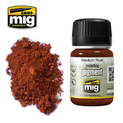 Pigment - Medium Rust (35ml) - Pegasus Hobby Supplies