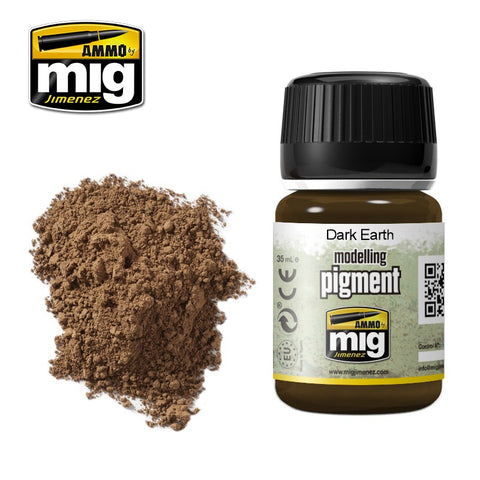 Pigment - Dark Earth (35ml) - Pegasus Hobby Supplies