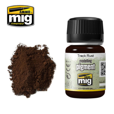 Pigment - Track Rust (35ml) - Pegasus Hobby Supplies