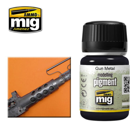 Pigment - Gun Metal (35ml) - Pegasus Hobby Supplies
