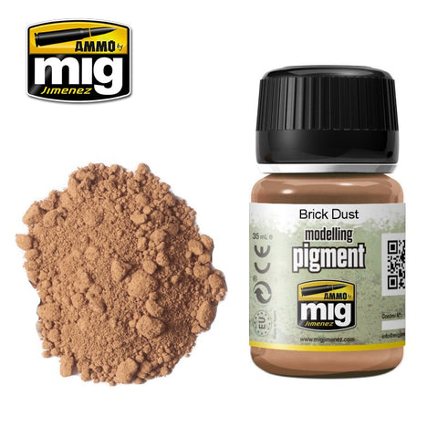 Pigment - Brick Dust (35ml) - Pegasus Hobby Supplies