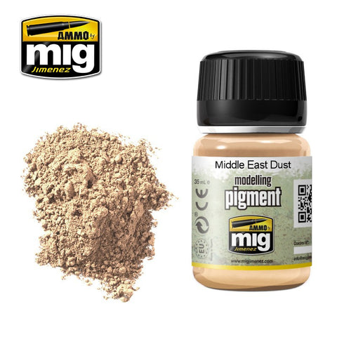 Pigment - Middle East Dust (35ml) - Pegasus Hobby Supplies