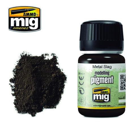 Pigment - Metal Slag (35ml) - Pegasus Hobby Supplies