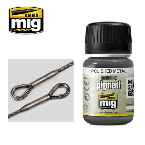 Pigment - Polished Metal (35ml) - Pegasus Hobby Supplies