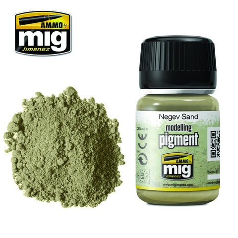 Pigment - Negev Sand (35ml) - Pegasus Hobby Supplies