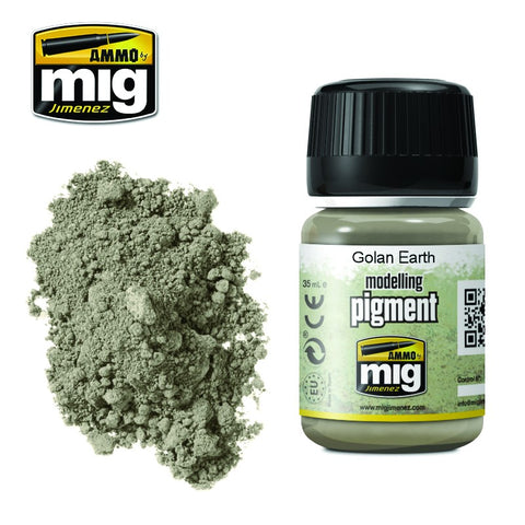 Pigment - Golan Earth (35ml) - Pegasus Hobby Supplies