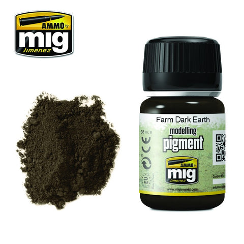 Pigment - Farm Dark Earth (35ml) - Pegasus Hobby Supplies