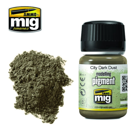 Pigment - Dark City Dust (35ml) - Pegasus Hobby Supplies