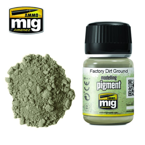 Pigment - Factory Dirt Ground (35ml) - Pegasus Hobby Supplies