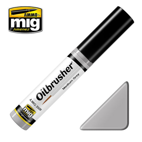 Oilbrusher - Medium Grey - Pegasus Hobby Supplies