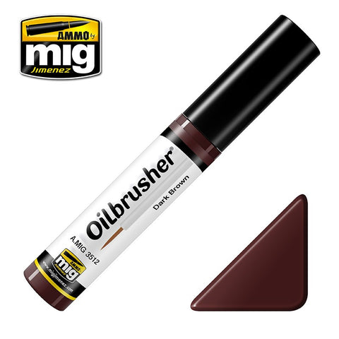 Oilbrusher - Dark Brown - Pegasus Hobby Supplies