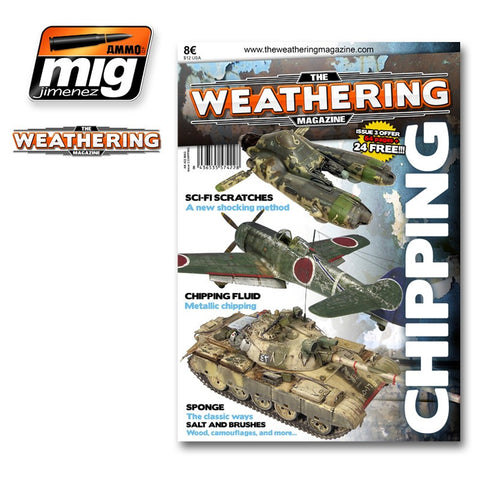 The Weathering Magazine : Issue 03 - Chipping - Pegasus Hobby Supplies