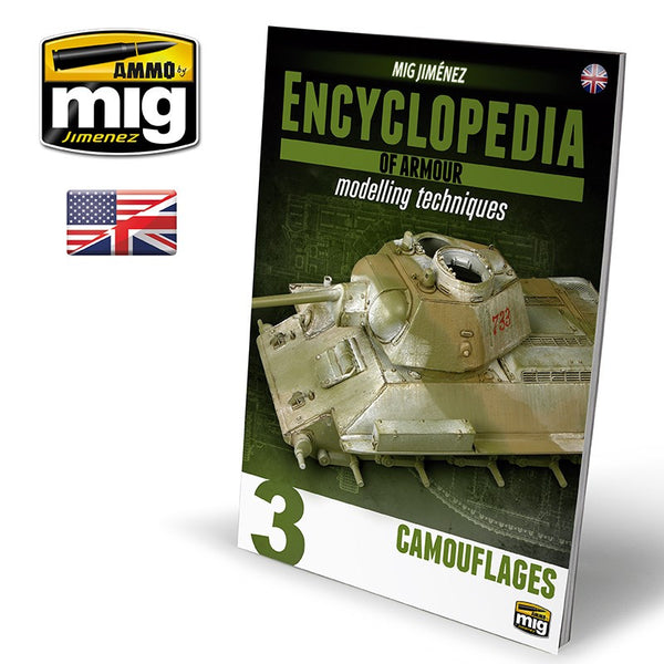Encyclopedia of Armour Modelling Techniques Volume 3 : Camouflages