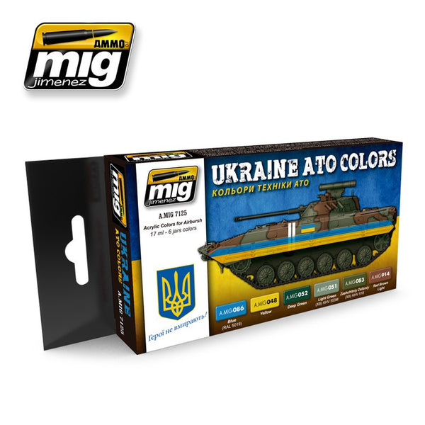 Ukraine ATO Colors