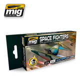 Space Fighters Sci-Fi Colors - Pegasus Hobby Supplies