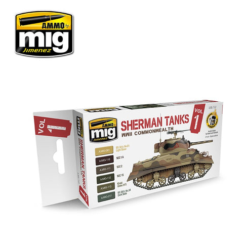 Sherman Tanks Vol. 1 (WWII Commonwealth) - Pegasus Hobby Supplies