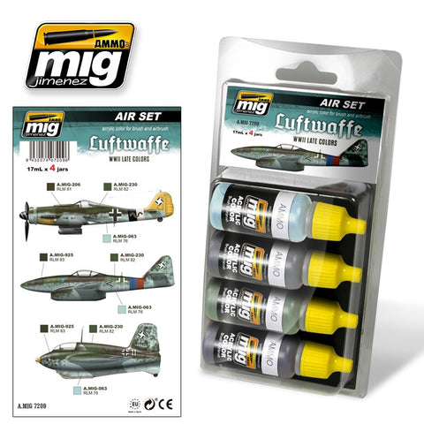 Luftwaffe WWII Late Colors - Pegasus Hobby Supplies