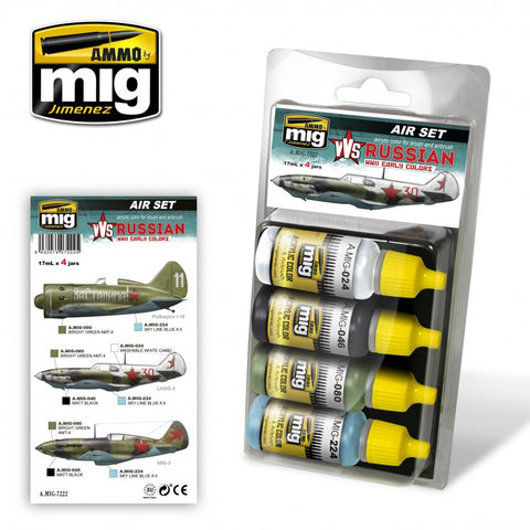 VVS WWII Russian Early Aircraft Colors - Pegasus Hobby Supplies