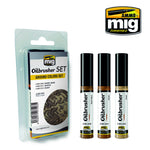 Oilbrusher Set - Ground Colors Set - Pegasus Hobby Supplies