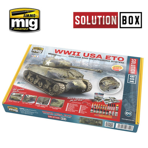 Solution Box : WWII American ETO - Pegasus Hobby Supplies