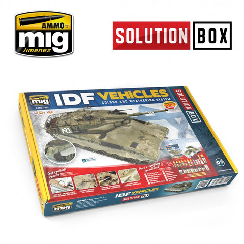 Solution Box : IDF Vehicles - Pegasus Hobby Supplies
