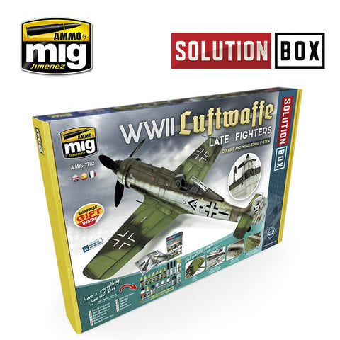 Solution Box : WWII Luftwaffe Late Aircraft