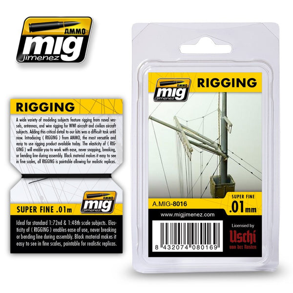 Rigging - Super Fine (0.01mm)