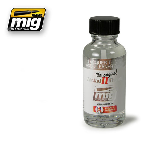 Lacquer Thinner & Cleaner (30ml) - Pegasus Hobby Supplies