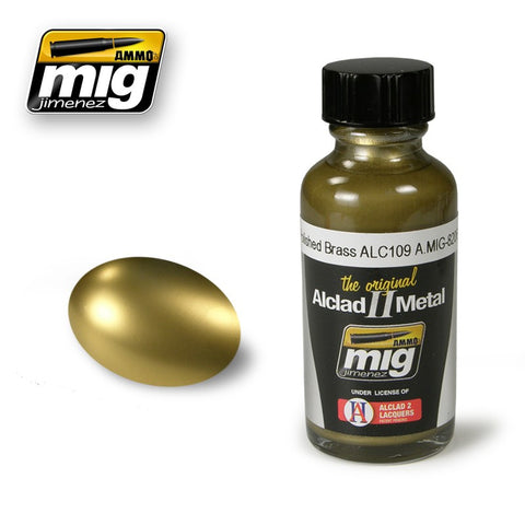 Polished Brass ACL109 (30ml) - Pegasus Hobby Supplies