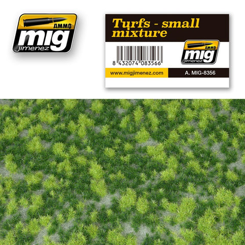 Turf - Small Mixture - Pegasus Hobby Supplies