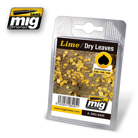 Lime - Dry Leaves - Pegasus Hobby Supplies
