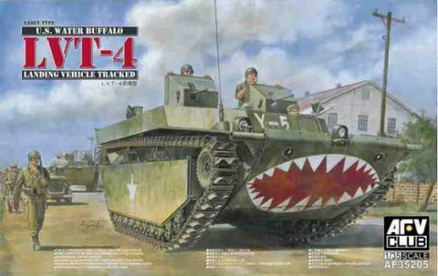 "U.S. ""Water Buffalo"" LVT-4 (Early Type) New Tooling - Pegasus Hobby Supplies"