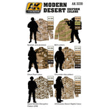 Modern Desert Uniform Colors - Pegasus Hobby Supplies