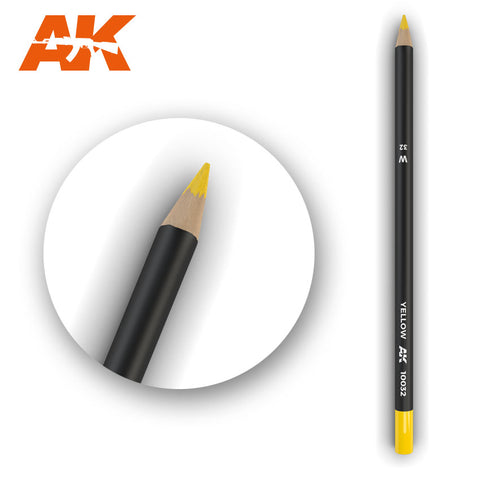 Weathering Pencil - Yellow - Pegasus Hobby Supplies