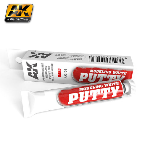 Modeling White Putty (20ml) - Pegasus Hobby Supplies