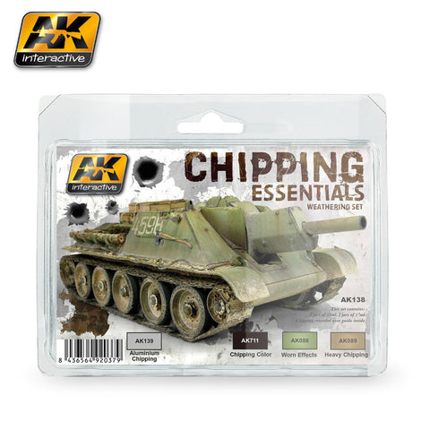 Chipping Essentials Weathering Set
