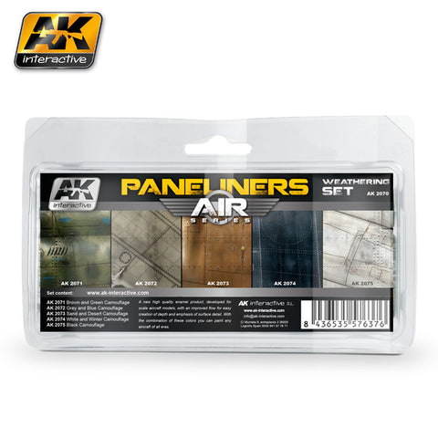 Paneliners Weathering Set - Pegasus Hobby Supplies