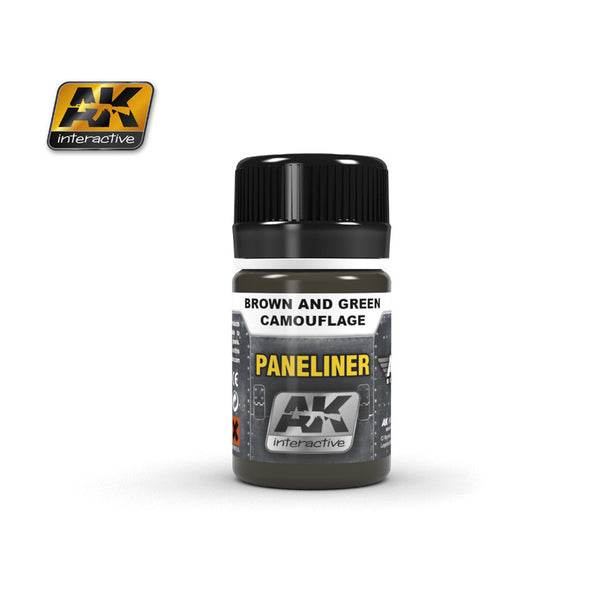 Paneliner for Brown & Green Camouflage (35ml)