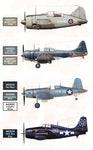 WWII U.S. Navy & U.S.M.C. Aircraft Colors - Pegasus Hobby Supplies