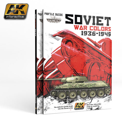 Profile Guide - Soviet War Colors (1936-1945) - Pegasus Hobby Supplies