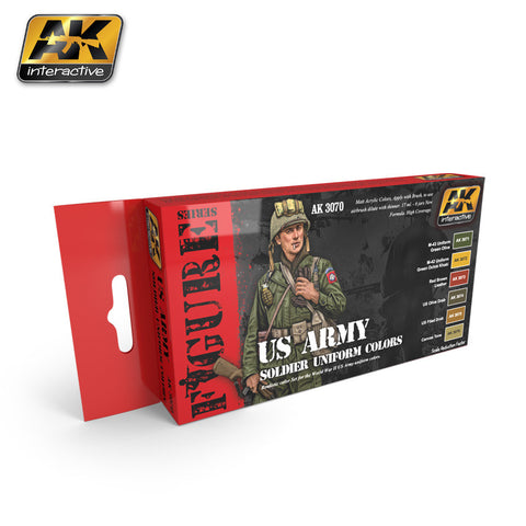 US Army Soldier Uniform Colors - Pegasus Hobby Supplies