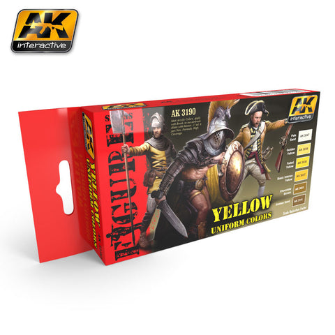 Yellow Uniform Colors - Pegasus Hobby Supplies